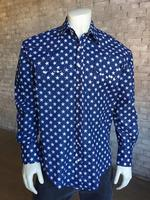 Rockmount Ranch Wear Men's Western Shirt: Print A Stars