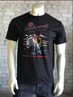 Rockmount Ranch Wear T-Shirt: Men's Signature Bronc Black