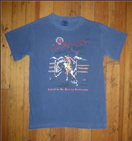 Rockmount Ranch Wear T-Shirt: Men's Signature Bronc Denim