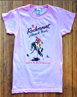 Rockmount Ranch Wear Ladies' Western T-Shirt: Signature Bronc Pink