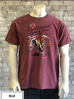 Rockmount Ranch Wear T-Shirt: Men's Signature Bronc Red