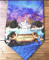 Rockmount Ranch Wear Accessory: Necktie Maxfield Parrish The Broadmoor