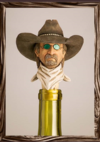 A Rockmount Ranch Wear Cowboy Bottle Stopper: Ladies Man