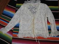 A Marrika Näkk: Romance Jacket Ivory or Black One Size Fits Most SALE