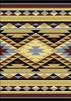 American Dakota Rug: Voices Collection Sallisaw 4X5 Drop Ship