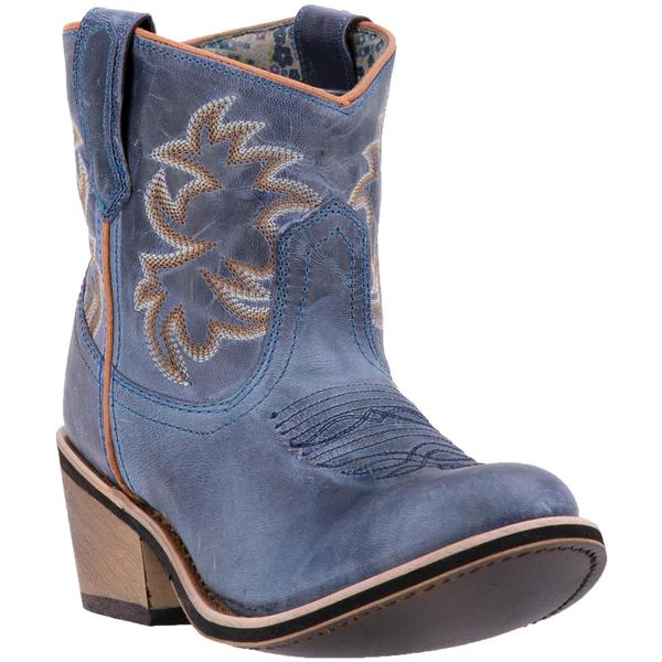 Ladies' Dan Post Boots Western Laredo Fashion: A Sapphrye Ankle Leather Blue