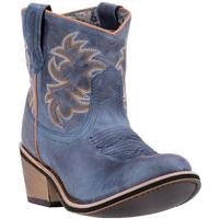 Ladies' Dan Post Boots Western Laredo Fashion: A Sapphry Ankle Leather Round Toe M 6-10
