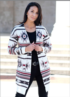 Ladies' Venario Cardigan Sweater: Savannah