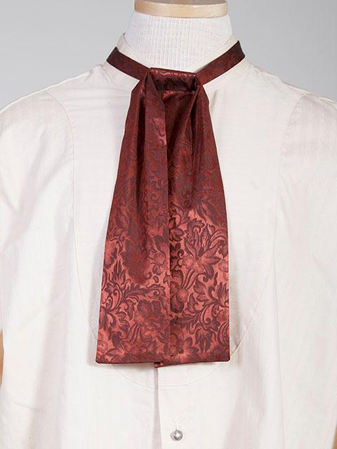 Scully Men's Accessory: Neckwear Wahmaker Silk Jacquard Tie Rust