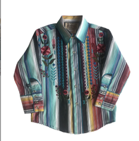 Rockmount Ranch Wear Children's Vintage Western Shirt: A Embroidered Serape Backordered