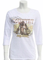 Jack Flash Tees: Country Music LS, 3/4 Sleeve S-2XL