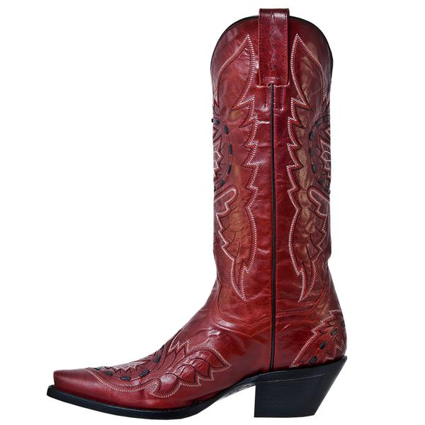 Ladies Dan Post Boots Western Fashion Sidewinder Red