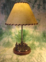 ZSold Lamp by Western Lamps: Sierra Madre SOLD