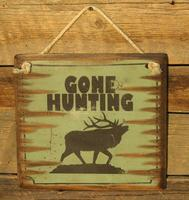 Wall Sign Hunting: Gone Hunting