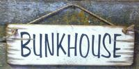 Wall Sign Barn: Bunkhouse