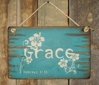 Wall Sign Faith: GRACE