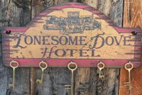Wall Sign Home: Key Holder Lonesome Dove Hotel