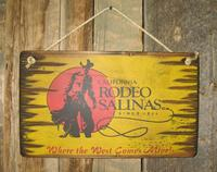 Wall Sign Rodeo: Rodeo Salinas