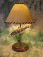 ZSold Lamp by Western Lamps: Soaring Eagle SOLD