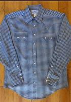 Rockmount Ranch Wear Men's Western Shirt: A Check Windowpane Buttons S-XL