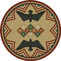 American Dakota Rug: National Park Collection Sunset Dance 3x4 Scatter Drop Ship