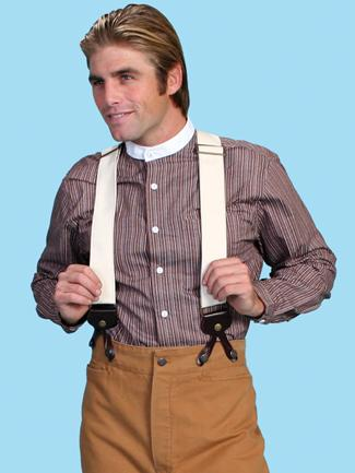 Scully Men's Accessory: Suspenders Wahmaker Canvas