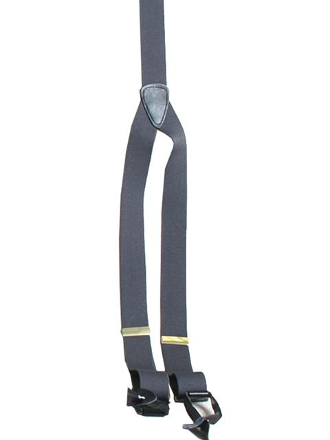 Scully Men's Accessory: Suspenders Rangewear Elastic Y-Backed Charcoal