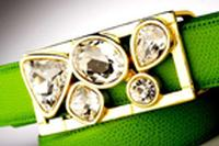 Terry Stack Belts & Buckles: Belt Buckle Jewels Crystal Rocks Gold Special Order