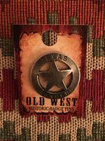 Colorado Silver Star Old West Badge: Texas Ranger Mini