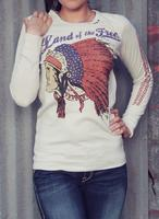 Original Cowgirl Clothing: Thermal Night Star Chief Unisex XS-2XL
