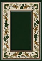 American Dakota Rug: Voices & New Enchota Collection Three Sisters Emerald 4x5 Drop Ship