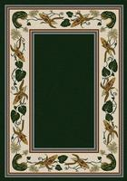 American Dakota Rug: Voices & New Enchota Collection Three Sisters Emerald 8' Round Drop Ship