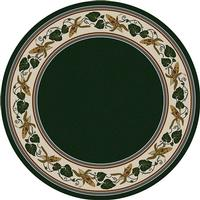 American Dakota Rug: Voices & New Enchota Collection Three Sisters Emerald 8x11 Drop Ship