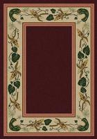 American Dakota Rug: Voices & New Enchota Collection Three Sisters Garnet 4x5 Drop Ship