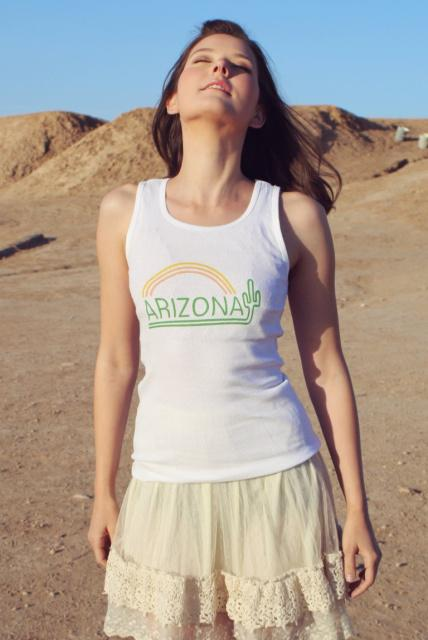 Original Cowgirl Clothing: Tank Arizona S-2XL