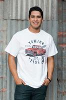 M&P Speed Shop Men's T-Shirt: Towing and Tire White XS-4XL