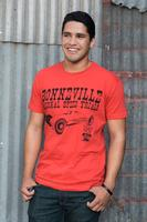 M&P Speed Shop Men's T-Shirt: Bonneville Belly Tank Red XS-4XL