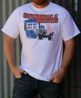 M&P Speed Shop Men's T-Shirt: Irwindale Raceway White XS-4XL