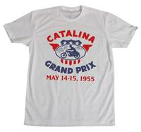 M&P Speed Shop Men's T-Shirt: Catalina Grand Prix White XS-4XL
