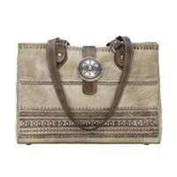 American West Handbag Trading Post Collection: Leather Shopper Tote