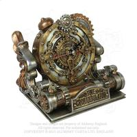 Alchemy Vault Timepiece: Time Chronambulator Desk Clock