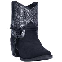 Ladies' Dan Post Boots Dingo: Fashion Ankle Valerie Black