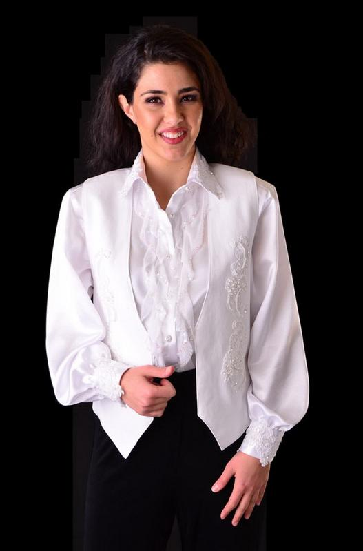 Western Wedding Blouse 84