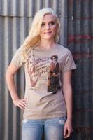 Original Cowgirl Clothing: Tee Vintage Cowgirl S-3XL
