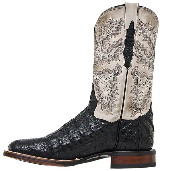 b9c456b9c6c Men's Dan Post Boots Cowboy Certified Exotic: Caiman Denver Black
