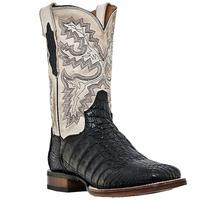Men's Dan Post Boots Cowboy Certified Exotic: Caiman Denver Black